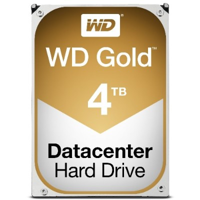 WD WD4002FYYZ Gold 4TB Datacenter Hard Disk Drive - 7200 RPM Class SATA 6 Gb/s 128MB Cache 3.5 Inch