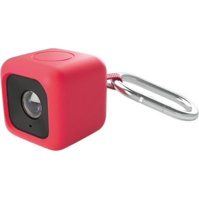 Polaroid POLC3PMR Bumper Case for CUBE Action Camera - Red