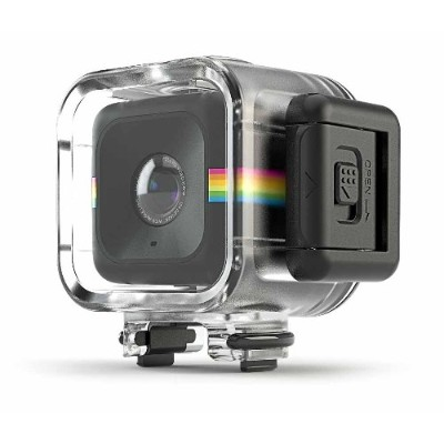 Polaroid POLC3WC Waterproof Case for CUBE Action Camera - Clear