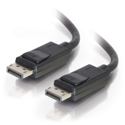 Cables To Go 54404 DisplayPort Cable with Latches M/M  Black (25 Feet)