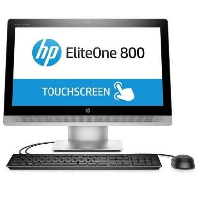 HP Inc. V2V50UT#ABA Smart Buy EliteOne 800 G2 Intel Core i5-6500 Quad-Core 3.20GHz All-in-One PC - 8GB RAM  128GB SSD  23 IPS Touch HD LED  Slim DVDRW  Gigabit