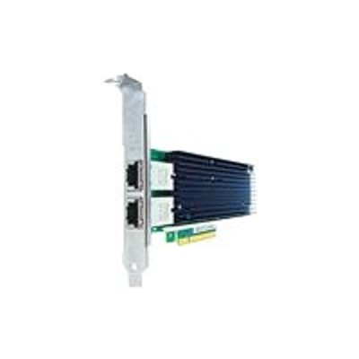 Axiom Memory 700699-B21-AX Network adapter - PCIe 2.0 x8 - 10GBase-T x 2 - for HPE ProLiant DL180 Gen9  DL20 Gen9  DL360p Gen8  DL380 Gen9  DL560 Gen9  XL230a G