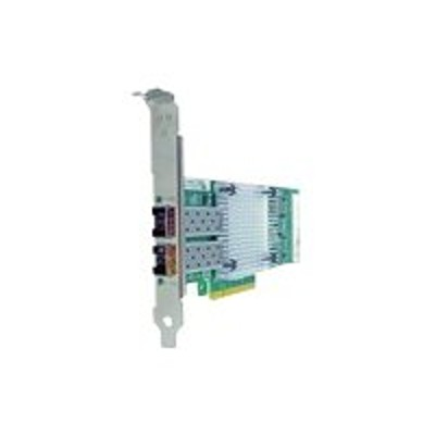 Axiom Memory 540-BBDR-AX Network adapter - PCIe 2.0 x8 - 10 Gigabit SFP+ x 2 - for Dell PowerEdge C6220  R220  R320  R530  R630  R730  R920  R930  T430  T630  V
