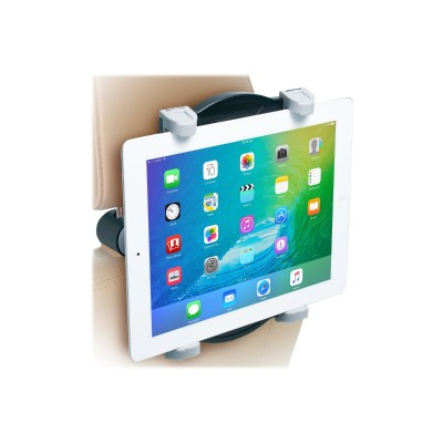 CTA Digital PAD-ACM Adjustable Car Seat Mount - Mounting kit ( car mount ) for tablet - plastic - screen size: 7-12 - headrest