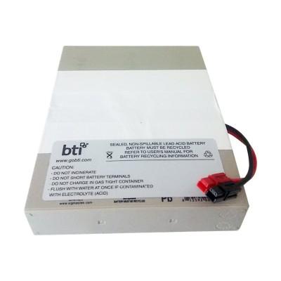 Battery Technology inc RBC62-1U-BTI UPS battery - 2 x lead acid