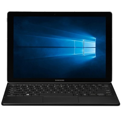 Samsung SM-W703NZKAXAR Galaxy Tab Pro S with Windows 10 Pro - Intel Core M3-6Y30 Dual-Core 2.20GHz Tablet - 4GB RAM  128GB SSD  12 Super AMOLED Touchscreen FHD+