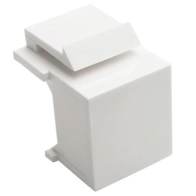 TrippLite N040-010-WH Snap In Blank Keystone Jack Insert 10 Pack White