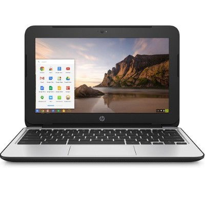 HP Inc. V2W30UT#ABA Smart Buy Chromebook 11 G4 Education Edition Intel Celeron Dual-Core N2840 2.16GHz - 4GB RAM  16GB SSD  11.6 LED HD  802.11a/b/g/n/ac  Bluet