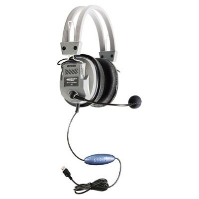 Hamilton Buhl HA5USBSM DELUXE USB HEADSET WITH MICROPHONE