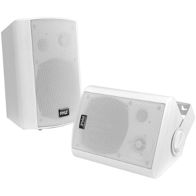 Pyle PDWR61BTWT 6.5 Indoor/Outdoor Wall-Mount Bluetooth Speaker System (White)