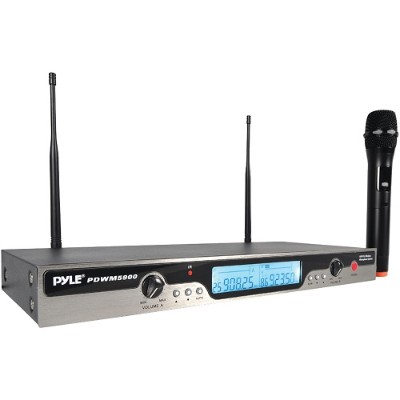 Pyle PDWM5900 UHF Wireless Microphone System