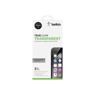 Belkin F8W526BT3 TrueClear - Screen protector - for Apple iPhone 6