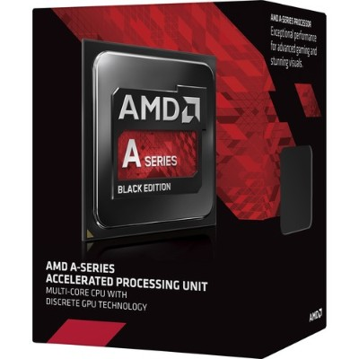 Advanced Micro Devices AD765KXBJASBX Quad-Core A8-7650K 3.30GHz Socket FM2+ Black Edition Boxed Processor