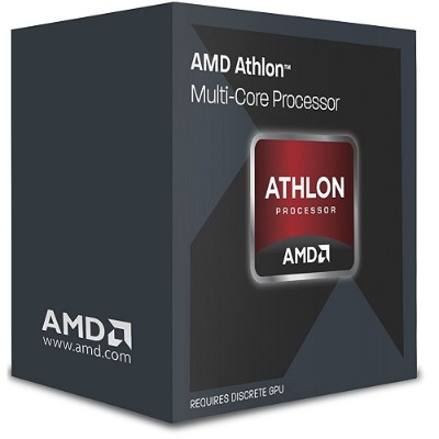 Advanced Micro Devices AD860KXBJASBX Athlon II X4 860K Quad-Core 3.70GHz Socket FM2+ Black Edition Boxed Processor