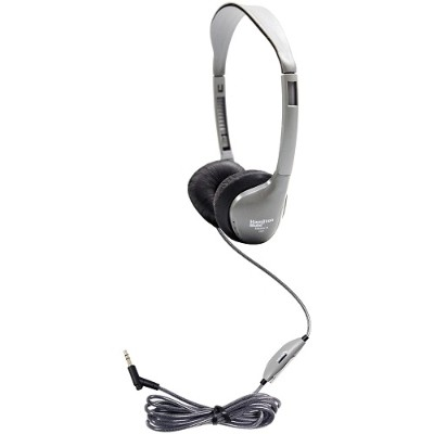 Hamilton Buhl MS2LV SCHOOLMATE ON-EAR STEREO HEADPHONE WITH LEATHERETTE CUSHIONS AND IN-LINE VOLUME