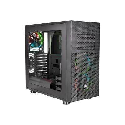 ThermalTake CA-1E9-00M1WN-02 Core X31 - RGB Edition - mid tower - ATX - no power supply (PS/2) - black - USB/Audio
