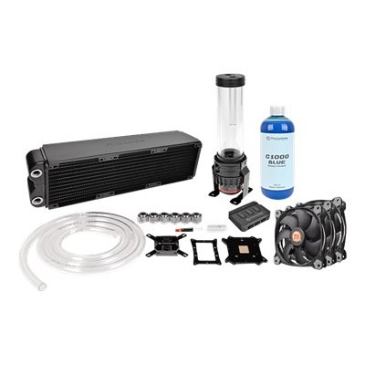 ThermalTake CL-W113-CA12SW-A Pacific RL360 - Liquid cooling system kit - (LGA775 Socket  LGA1156 Socket  Socket AM2  Socket AM2+  LGA1366 Socket  Socket AM3  LG