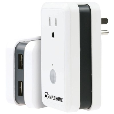 Jem Accessories XWS7-1002-WHT Wi-Fi Wall Plug with Energy Monitoring