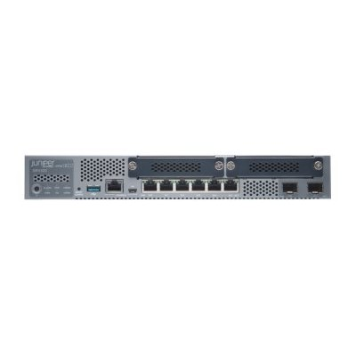 Juniper Networks SRX320 SRX320 Services Gateway - Security appliance - 8 ports - GigE  HDLC  Frame Relay  PPP  MLPPP  MLFR - desktop