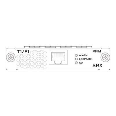 Juniper Networks SRX-MP-1T1E1-R Mini-PIM - Expansion module - T1/E1 - T-1/E-1