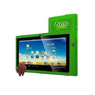 Worry Free Gadgets 7DRK-Q-GREEN Zeepad 7DRK-Q - Tablet - Android 4.4 (KitKat) - 4 GB - 7 (1024 x 600) - USB host - microSD slot - green
