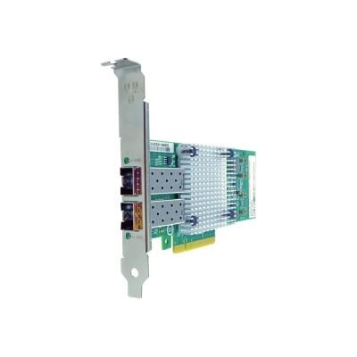 Axiom Memory 49Y4250-AX Network adapter - PCIe 2.0 x8 - 10 Gigabit SFP+ x 2 - for Lenovo System x32XX M2  x3350  x3400 M2  x3455  x3650 M2  x3755  x3850 M2  x39