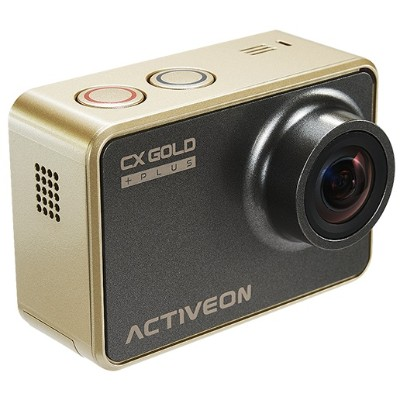 ON Corporation CXGOLDHSTRAP-K CX Gold Action Cam with Head Strap