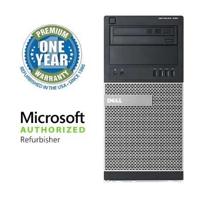 Dell OLDEL990/3.1CI5M OptiPlex 990 Intel Core i5-2400 Quad-Core 3.10GHz Minitower Desktop - 4GB RAM  500GB HDD  Gigabit Ethernet - Refurbished