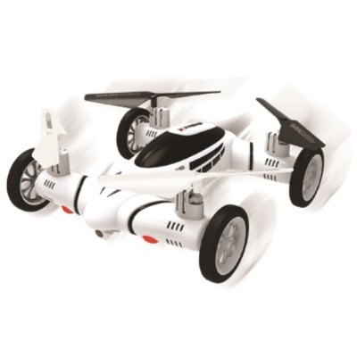Jem Accessories XDG6-1005-WHT Fly and Drive Quadcopter with HD Recording