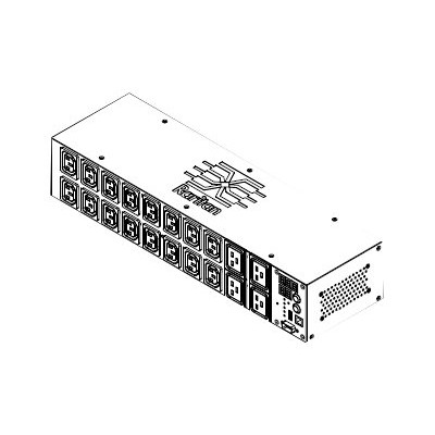 Raritan Computer PX2-1464R-A5 Dominion PX PX2-1464R-A5 - Power distribution unit (rack-mountable) - AC 208 V - 5800 VA - 1-phase - Ethernet 10/100  RS-232 - inp