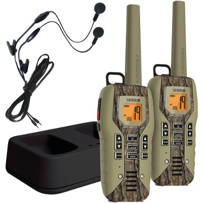 Uniden GMR5088-2CKHS 50-Mile 2-Way FRS/GMRS Radios (Realtree Camo)
