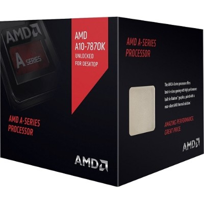 Advanced Micro Devices AD787KXDJCSBX Quad-Core A10-7870K 3.90GHz Socket FM2+ Boxed Processor