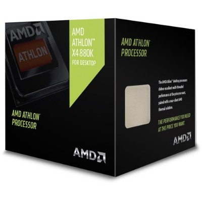 Advanced Micro Devices AD880KXBJCSBX Athlon II X4 880K Quad-Core 4.0GHz Socket FM2+ Boxed Processor
