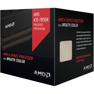 Advanced Micro Devices AD789KXDJCHBX Quad-Core A10-7890K 4.10GHz Socket FM2+ Boxed Processor