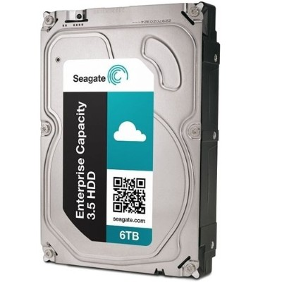 Seagate ST6000NM0115 Enterprise Capacity 3.5 HDD V.5 ST6000NM0115 - Hard drive - 6 TB - internal - 3.5 - SATA 6Gb/s - 7200 rpm - buffer: 256 MB