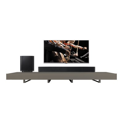 LG LAS950M 7.1 700w Sound Bar With Wireless Subwoofer and Bluetooth - Black