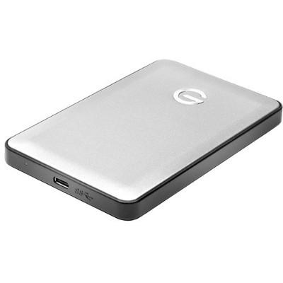 G-Technology 0G04876 1TB G-DRIVE mobile USB 3.0 Type-C External Hard Drive (Silver)