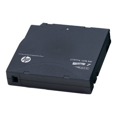 Hewlett Packard Enterprise C7977AN Ultrium Non-Custom Labeled Data Cartridge - 20 x LTO Ultrium 7 - 6 TB / 15 TB - barcode labeled