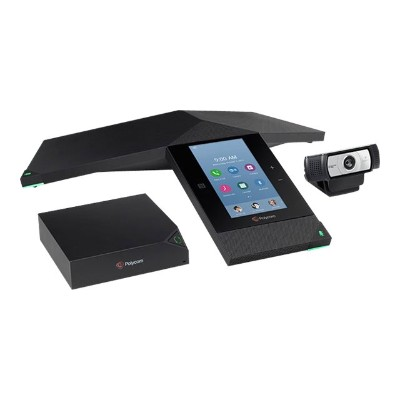 Polycom 7200-23450-019 RealPresence Trio 8800 Collaboration Kit - Video conferencing kit - with Trio Visual+  Logitech C930e and 1 year Partner Premier