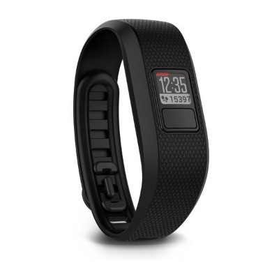 Garmin International 010-01608-04 Vívofit 3 Activity Tracker with Garmin Move IQ Automatic Activity Detection - X-Large Black