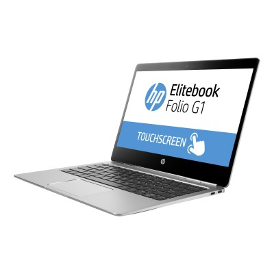 HP Inc. W0R79UT#ABA Smart Buy EliteBook Folio G1 Intel Core m5-6Y57 Dual-Core 1.10GHz Notebook PC - 8GB RAM  256GB SSD  12.5 FHD IPS UWVA LED Touchscreen  802.1
