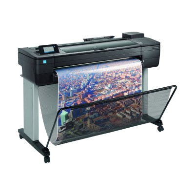 HP Inc. F9A29A#BCB DesignJet T730 - 36 large-format printer - color - ink-jet - Roll (36 in x 150 ft) - 2400 x 1200 dpi - up to 0.4 min/page (mono) / up to 0.4