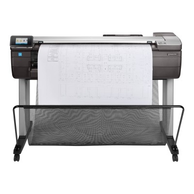 HP Inc. F9A30A#BCB DesignJet T830 - 36 multifunction printer - color - ink-jet - 35.98 in x 109.06 in (original) - Roll (36 in x 150 ft)  35.98 in x 74.69 in (m