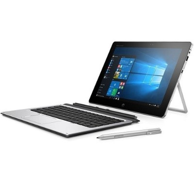 HP Inc. W0S19UT#ABA Smart Buy Elite x2 1012 G1 Intel Core m5-6Y54 Dual-Core 1.10GHz Tablet PC with Travel Keyboard - 4GB RAM  128GB SSD  12 LED FHD UWVA Touch