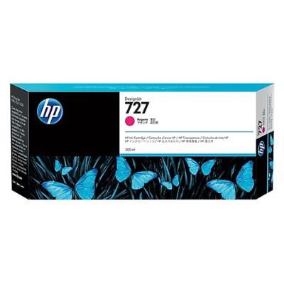 HP Inc. F9J77A 727 - 300 ml - dye-based magenta - original - DesignJet - ink cartridge - for DesignJet T1530  T1530 PostScript  T2530  T930