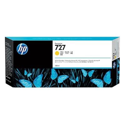 HP Inc. F9J78A 727 - 300 ml - dye-based yellow - original - DesignJet - ink cartridge - for DesignJet T1530  T1530 PostScript  T2530  T930