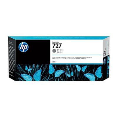 HP Inc. F9J80A 727 - 300 ml - dye-based gray - original - DesignJet - ink cartridge - for DesignJet T1530  T1530 PostScript  T2530  T930