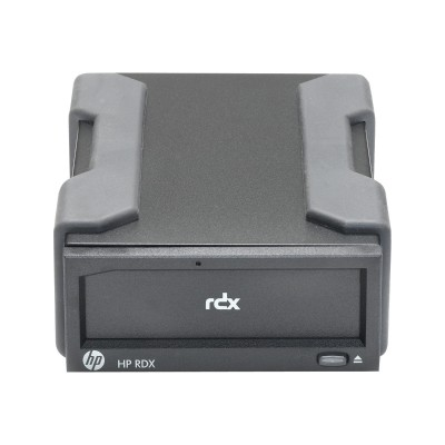 HP Inc. C8S07B HPE RDX Removable Disk Backup System - Disk drive - RDX - SuperSpeed USB 3.0 - external