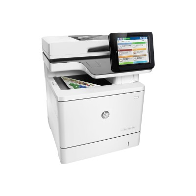 HP Inc. B5L49A#BGJ LaserJet Managed MFP M577dnm - Multifunction printer - color - laser - Legal (8.5 in x 14 in) (original) - A4/Legal (media) - up to 38 ppm (c