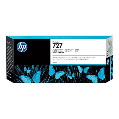 HP Inc. F9J79A 727 - 300 ml - High Capacity - dye-based photo black - original - DesignJet - ink cartridge - for DesignJet T1500  T1530  T2500  T2530